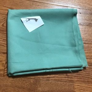 2yd sweet mint polyester or rayon material